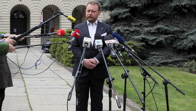 Minister Zdrowia Łukasz Szumowski /Paweł Supernak /PAP