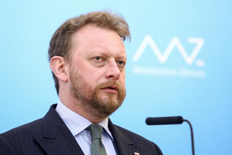 Minister zdrowia Łukasz Szumowski /Fot Tomasz Jastrzebowski /Reporter