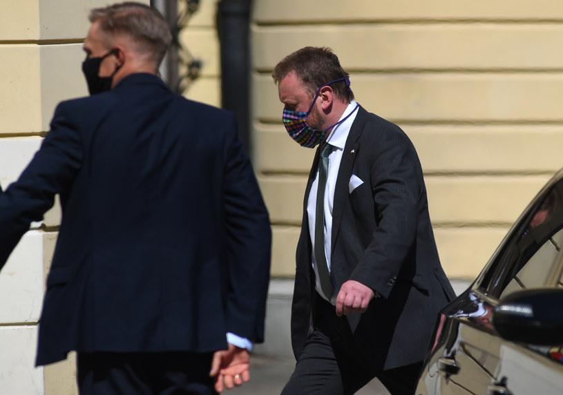 Minister zdrowia Łukasz Szumowski /Adam Chelstowski /Agencja FORUM