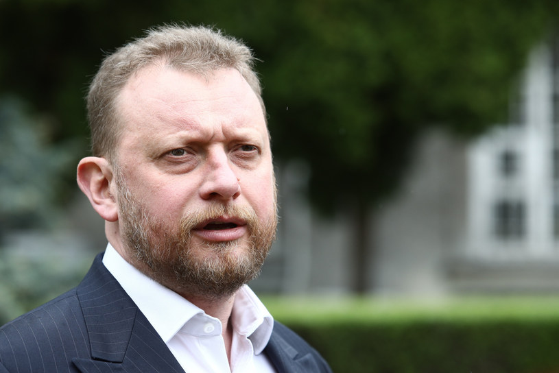 Minister zdrowia Łukasz Szumowski /Tomasz Jastrzębowski /Reporter