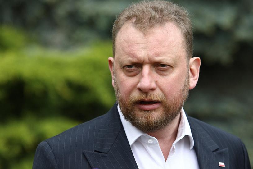 Minister zdrowia Łukasz Szumowski /Tomasz Jastrzebowski/REPORTER /Reporter