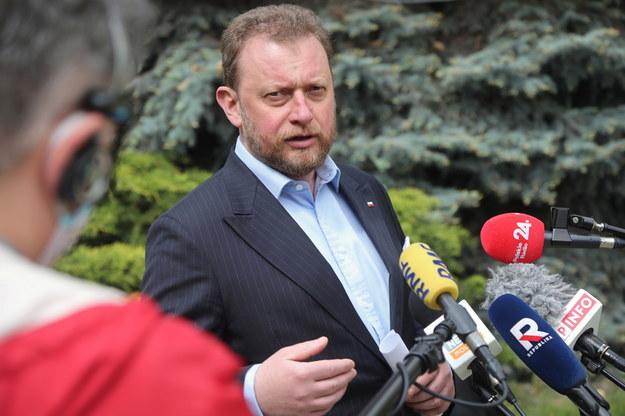Minister zdrowia Łukasz Szumowski /Wojciech Olkuśnik /PAP