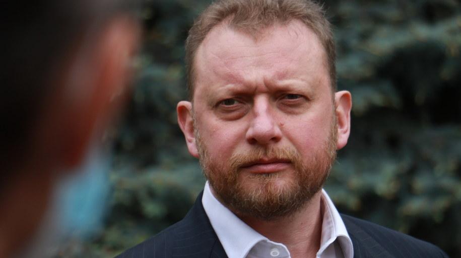 Minister zdrowia Łukasz Szumowski /Jakub Rutka /Archiwum RMF FM