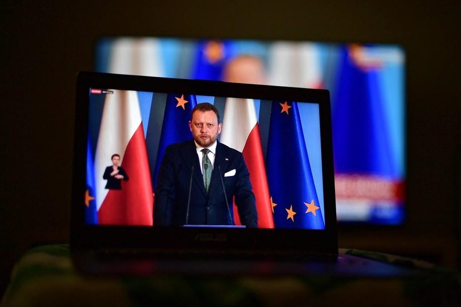 Minister zdrowia Łukasz Szumowski / Marcin Obara  /PAP