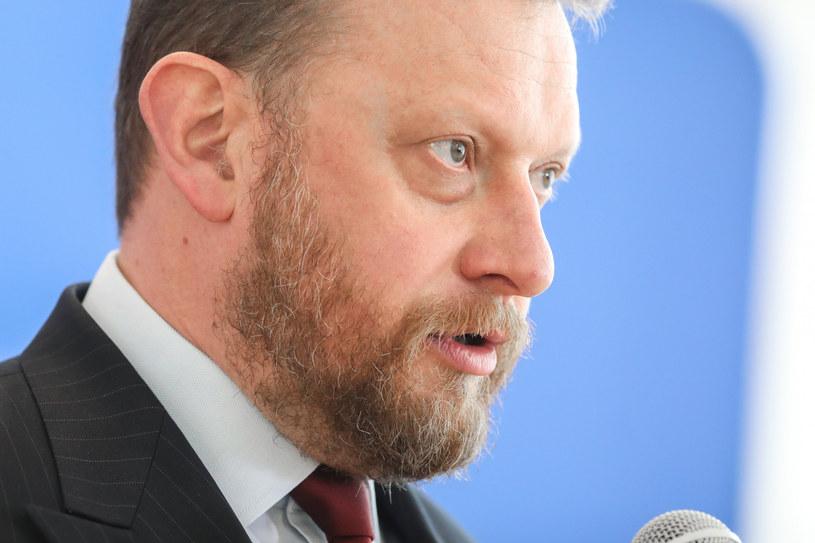 Minister zdrowia Łukasz Szumowski /fot. Andrzej Iwanczuk /Reporter