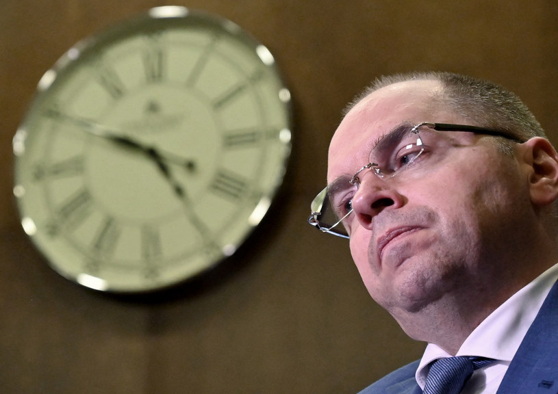 Minister zdrowia Maksym Stepanow odwołany /AFP