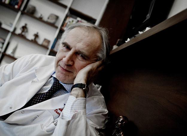 Minister zdrowia Marian Zembala podkreślił, że jest to sukces całego zespołu specjalistów /Irek Dorożański /Agencja FORUM