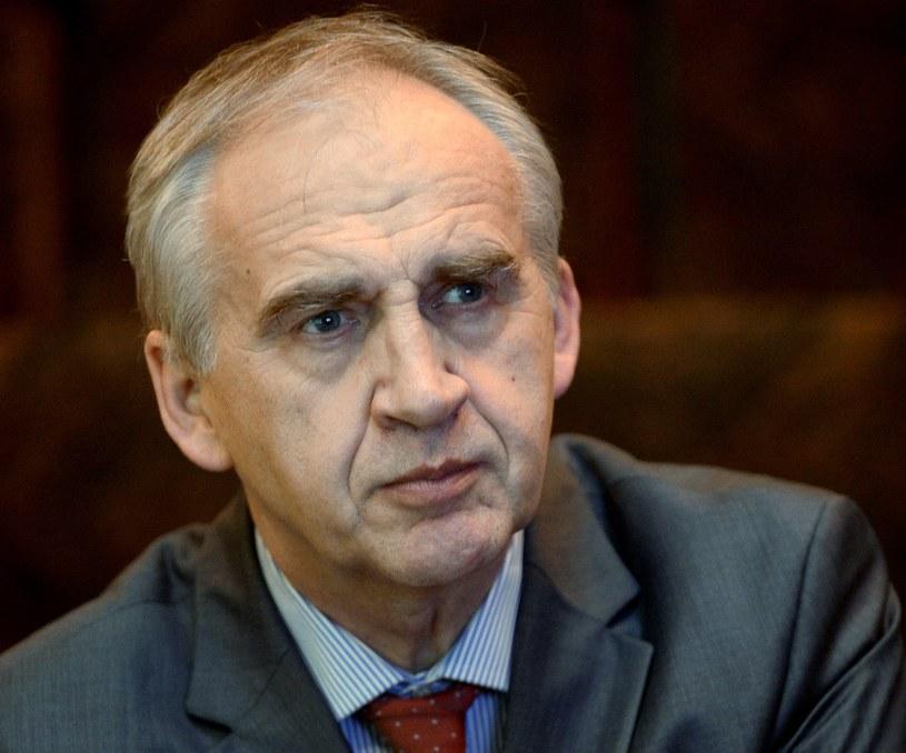 Minister zdrowia Marian Zembala /PAP/Bartłomiej Zborowski /PAP