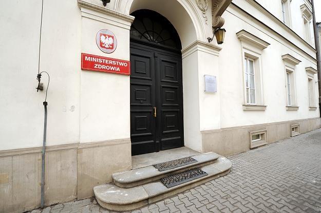 Ministerstwo Zdrowia. Fot Lech Gawuc /Reporter