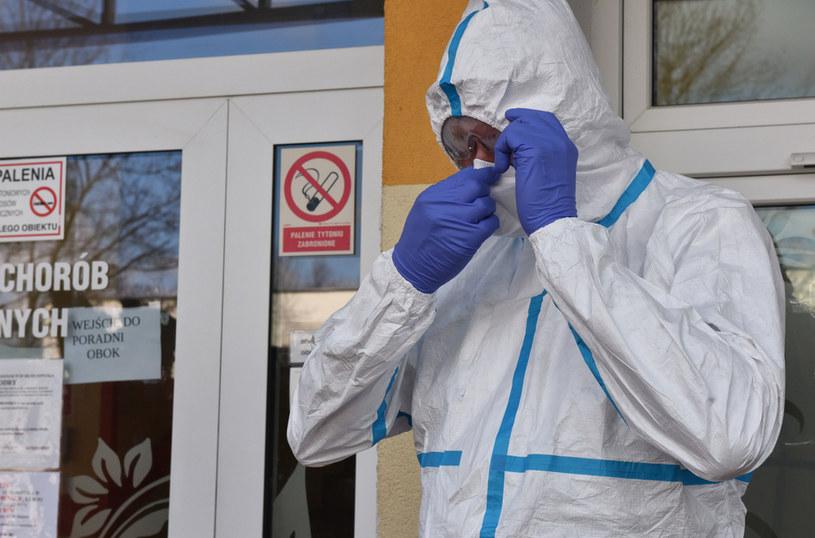 Ministerstwo Zdrowia przedstawiło najnowsze dane dotyczące epidemii w Polsce /Tomasz Gawalkiewicz /Agencja FORUM