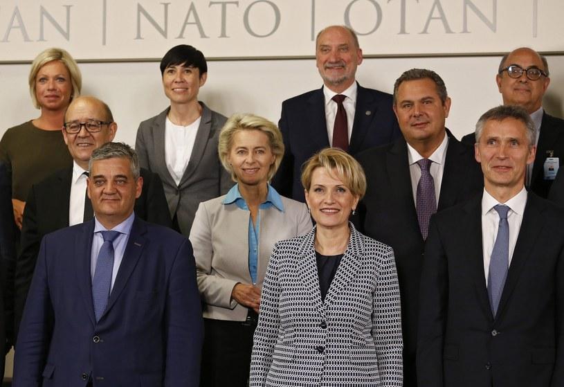 Ministrowie obrony NATO obradują o Ukrainie i sąsiedztwie Sojuszu /EPA/JULIEN WARNAND /PAP/EPA