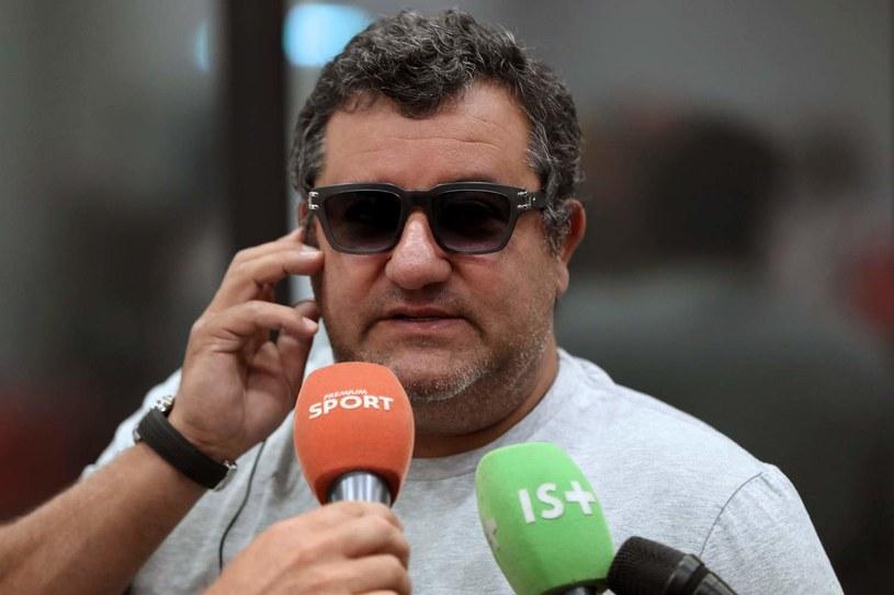 Mino Raiola udzielił kontrowersyjnego wywiadu /AFP