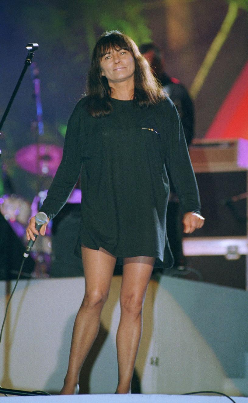 Mira Kubasińska, 1996 r. /Mieczyslaw Wlodarski /Reporter
