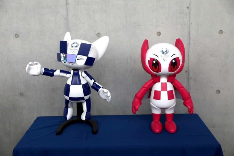 Miraitowa i Someity - maskotki igrzysk olimpijskich Tokio 2020. /AFP