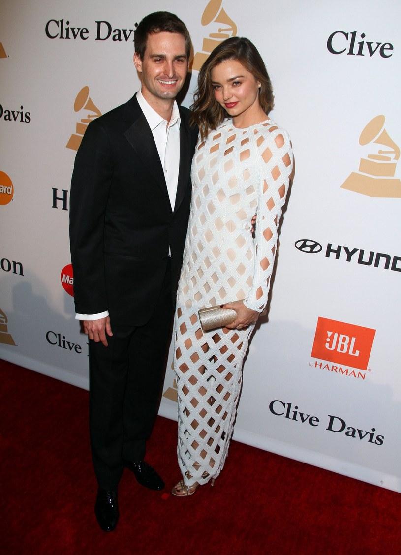 Miranda Kerr i Evan Spiegel /East News