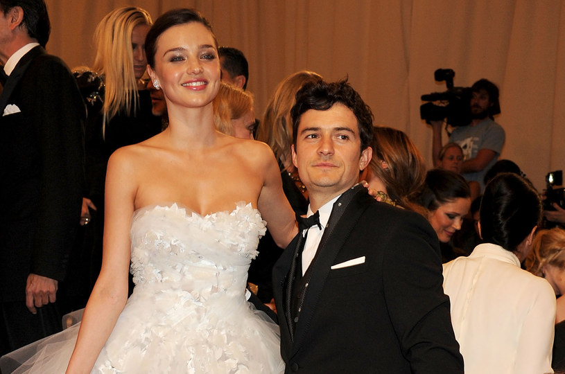 Miranda Kerr i Orlando Bloom /Larry Busacca /Getty Images