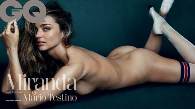 Miranda Kerr w obiektywie Mario Testino. /materiały prasowe
