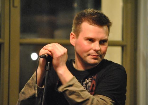 Mirek Lazarek (Strefa) w Hard Rock Cefe /INTERIA.PL