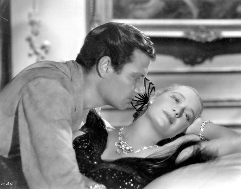 "Miriam Hopkins i Joel McCrea w filmie ""Barbary Coast"", produkcja Samuel Goldwyn (1935) /Hulton Archive /Getty Images"