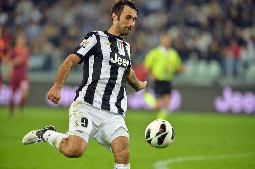 Mirko Vucinić w barwach Juventusu Turyn /AFP