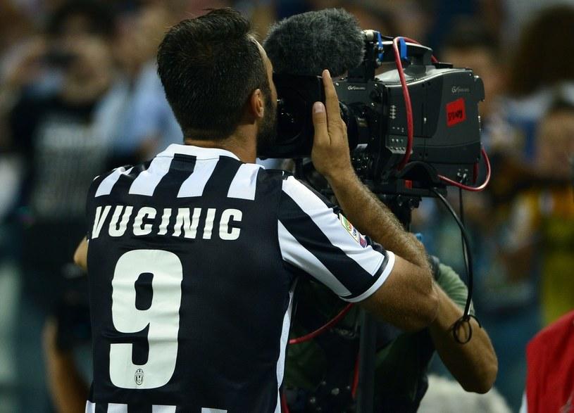 Mirko Vucinić w barwach Juventusu /AFP