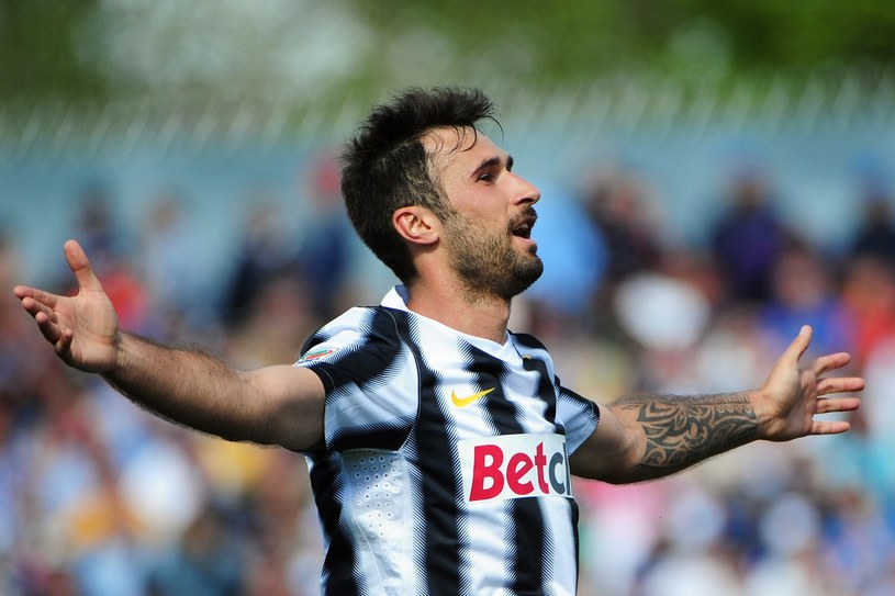 Mirko Vucinic zdobył jedną z bramek dla Juventusu. /AFP