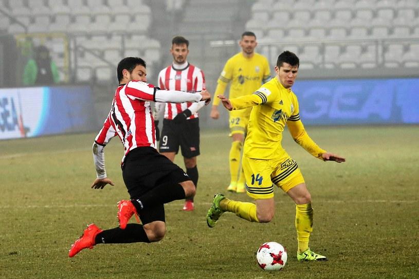 Miroslav Czovilo (z lewej) jest w trakcie rehabilitacji /Fot. Mateusz Skwarczek /