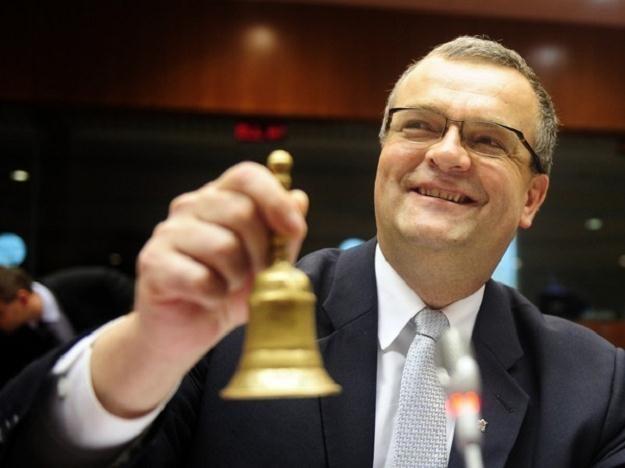 Miroslav Kalousek, minister finansów Czech /AFP