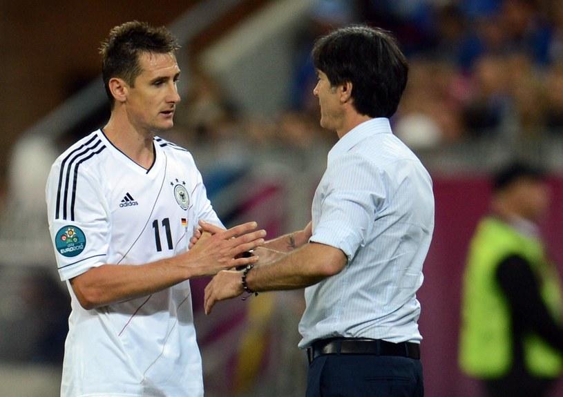 Miroslav Klose cieszy się zaufaniem Joachima Loewa /AFP