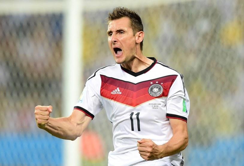 Miroslav Klose, piłkarz reprezentacji Niemiec /AFP