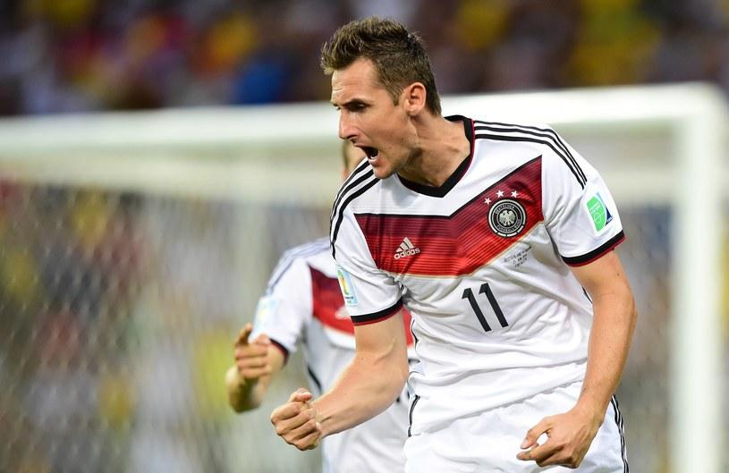 Miroslav Klose, snajper reprezentacji Niemiec /AFP