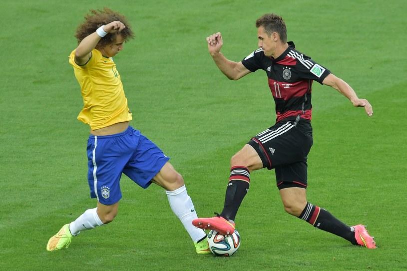 Miroslav Klose (z prawej) /AFP