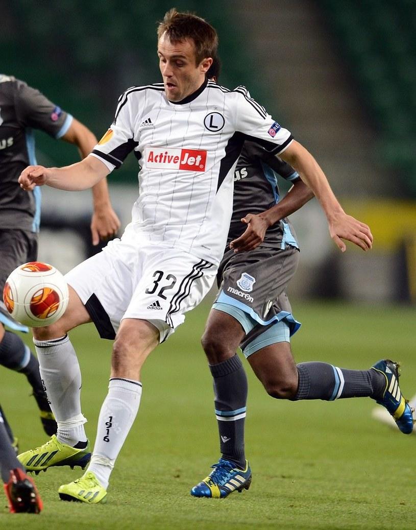 Miroslav Radović pożegnał się z Legią. /AFP