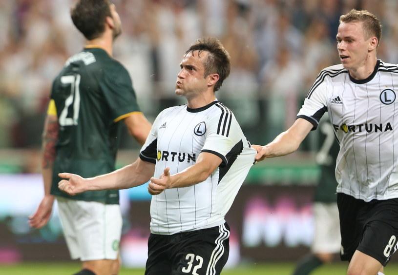 Miroslav Radović strzelił Celtikowi dwa gole /Fot. Leszek Szymański /PAP