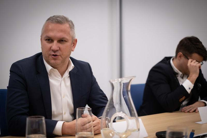 Mirosław Deja, dyrektor ds. IT w UNIQA Polska, fot. FW /INTERIA.PL