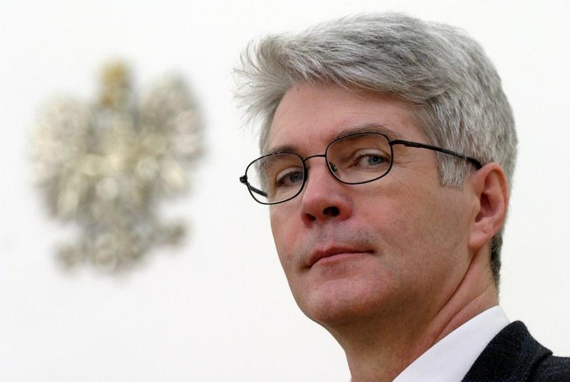 Mirosław Gronicki, były minister finansów /Redos/REPORTER /Agencja SE/East News