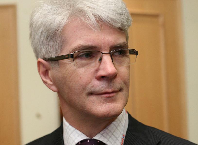 Mirosław Gronicki, minister finansów w drugim rządzie Marka Belki /MACIEJ LABUDZKI/REPORTER /Reporter