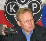 Mirosław Jabłoński na konferencji prasowej /Łukasz Przybyłowicz