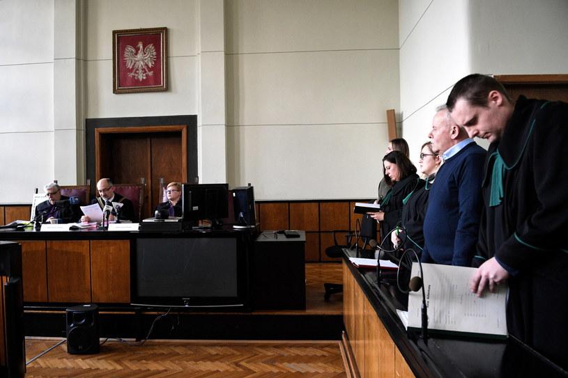 Mirosław Karapyta przed sądem /Darek Delmanowicz /PAP