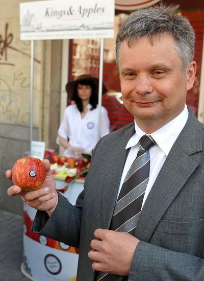 Mirosław Maliszewski, prezes Związku Sadowników RP. Fot Lech Gawuc /Reporter
