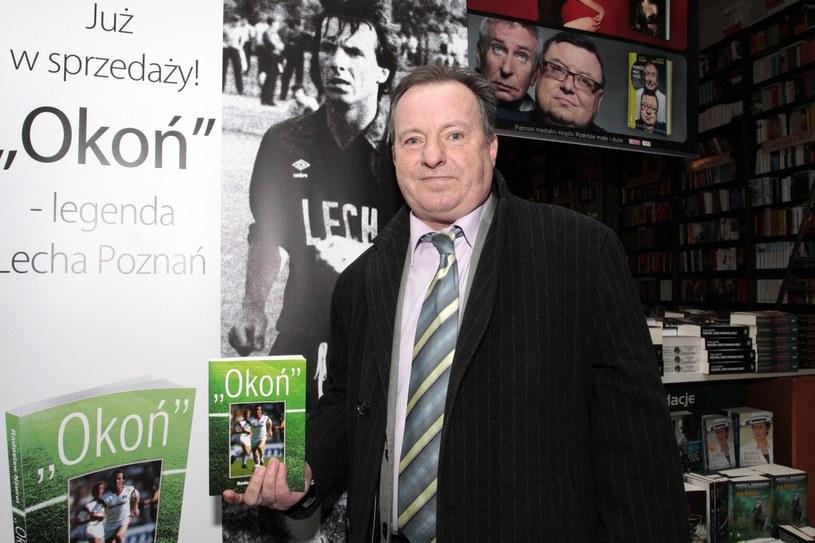 Mirosław Okoński to jeden z najlepszych piłkarzy w historii Lecha Poznań /Michal Gwozdzik/REPORTER /East News