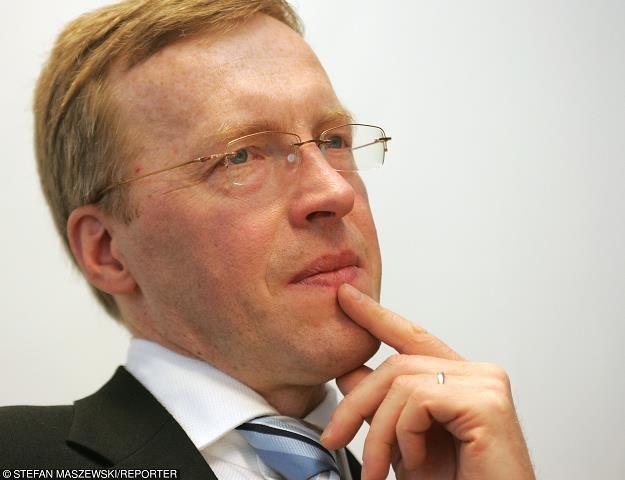 Mirosław Panek, prezes BGK. Fot. Stefan Maszewski /Reporter