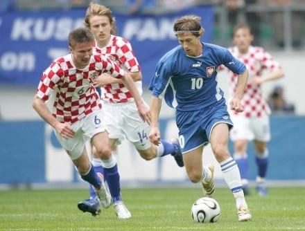 Mirosław Szymkowiak (z prawej). /Agencja Przegląd Sportowy