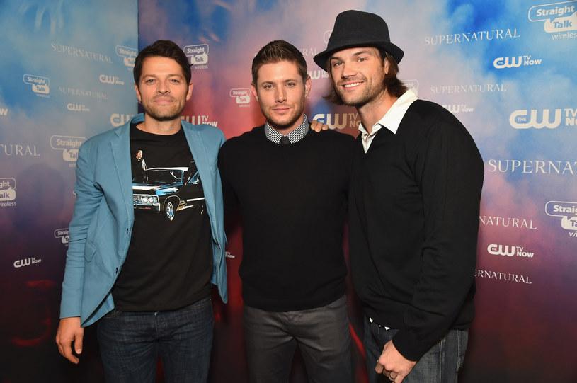 Misha Collins, Jensen Ackles, Jared Padalecki /Alberto E. Rodriguez /Getty Images