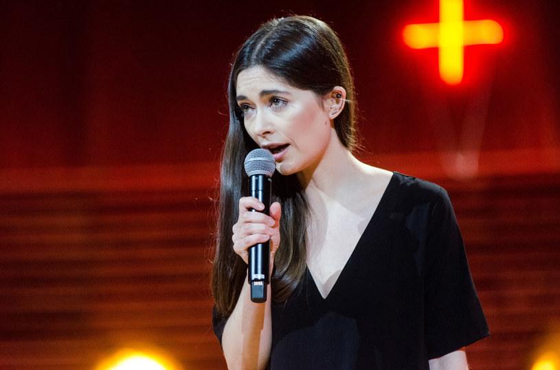 "Misia Furtak podczas koncertu ""NowOsiecka"" /Dominik Zachariasz /Reporter"