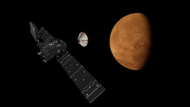 Misja ExoMars 2016 ma dotrzeć do Marsa w październiku 2016 roku /materiały prasowe