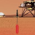 Misja InSight na Marsa - polski Kret HP3 umieszczony pod powierzchnią