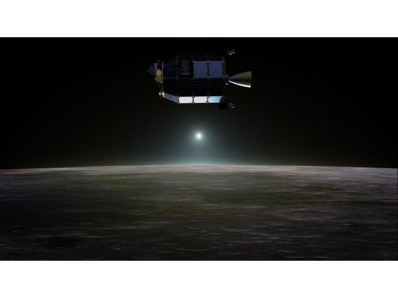 Misja LADEE będzie działać dłużej o 28 dni. /NASA