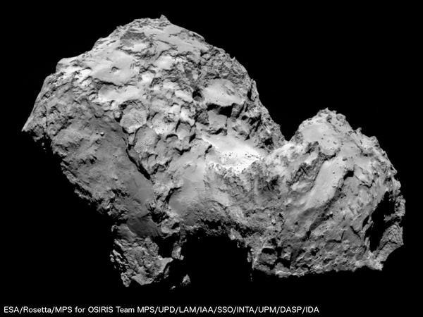 Misja sondy Rosetta i lądownika Philae to jedno z największych osiągnięć naukowych 2014 roku. /materiały prasowe