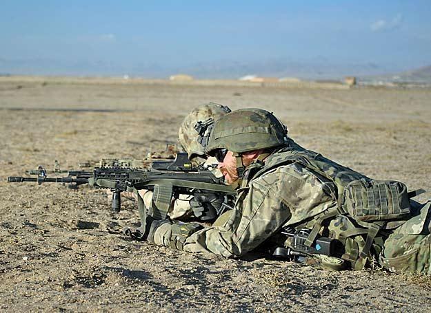 Misja w Libii sparaliżowałaby polski kontyngent w Afganistanie/fot. Marcin Ogdowski /